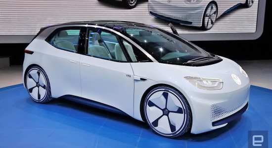 Volkswagen I.D. - upcoming electric cars