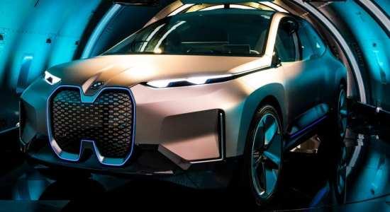luxury electric cars BMW iNEXT