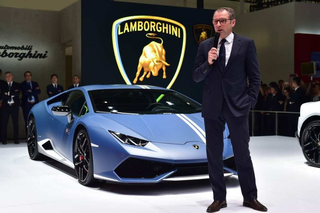 Lamborghini hybrid