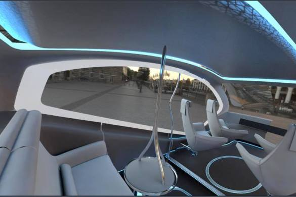 Fisker Orbit Interior