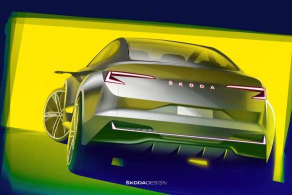 New ŠKODA Electric Crossover Teased Ahead of Launch