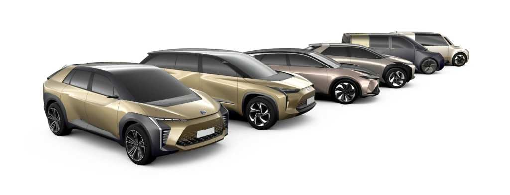 Toyota Electric Car Lineup