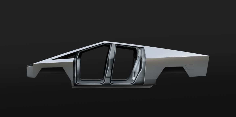 Tesla Cybertruck Exoskeleton