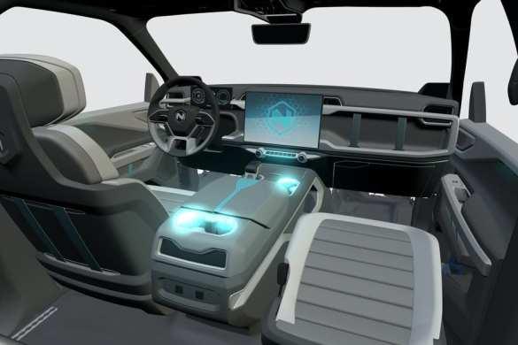 Nikola EV Truck Interior