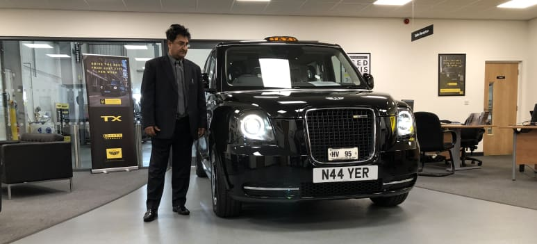 Electric black cabs now taking fares in Manchester