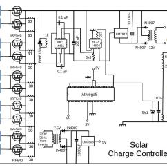 Solar Panel Charge Controller Circuit Diagram Eye Eyeshadow Placement Charging Station Diy Ev In Rsadiy Rsa