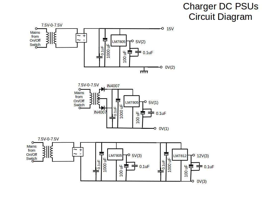 General Battery Charger Wiring Diagram, General, Free