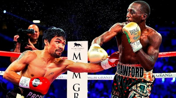 Manny Pacquiao & Terence Crawford (Foto Cortesía)