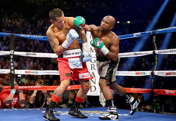 Marcos Maidana & Floyd Mayweather (Showtime Boxing)