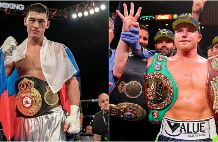 Canelo Álvarez vs Dmitry Bivol en peso pactado