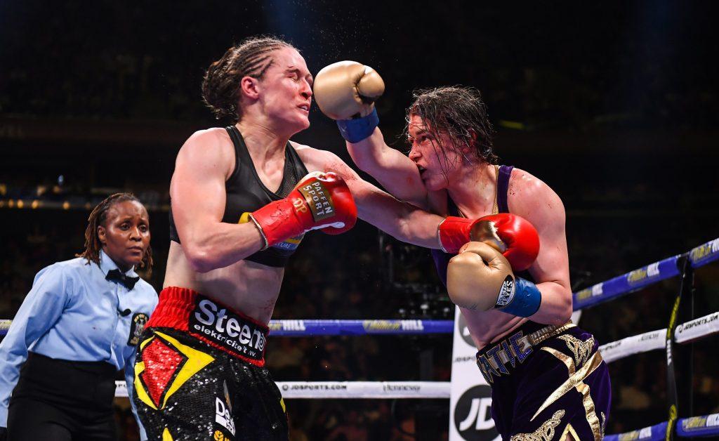 Delfine Persoon & Katie Taylor (Matchroom Boxing)