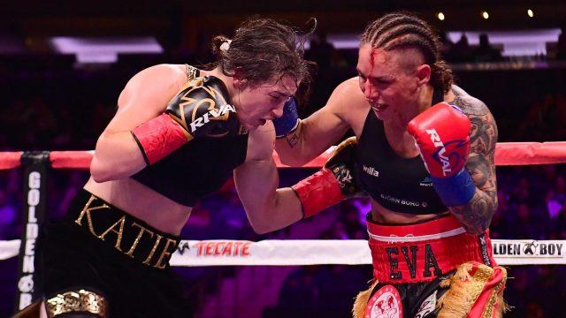 Katie Taylor & Delfine Persoon (Matchroom Boxing)