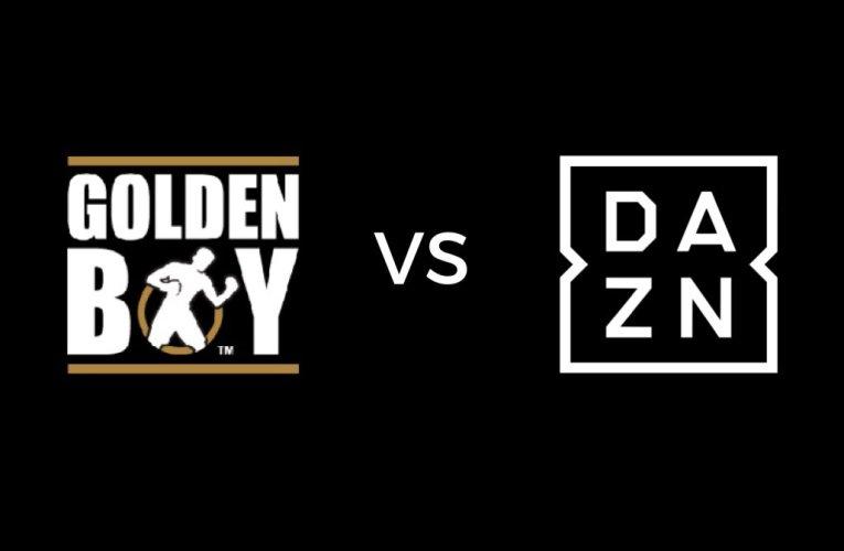 DAZN CONFIRMA 2 VELADAS DE GOLDEN BOY PROMOTIONS: ¡NADA CON CANELO!