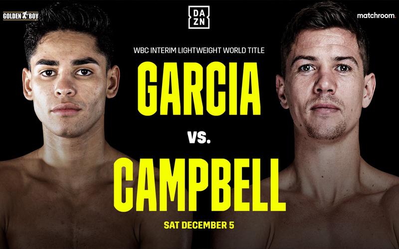 Ryan García & Luke Campbell (DAZN)