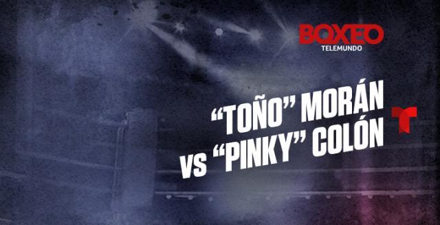 Emanuel Colón y Antonio Morán (Boxeo Telemundo)