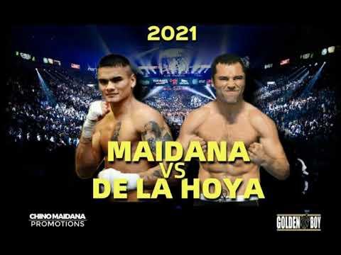 OSCAR DE LA HOYA VS MARCOS 'CHINO' MAIDANA: SE VIENE