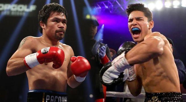 Ryan García revela por qué no se concretó pelea con Manny Pacquiao