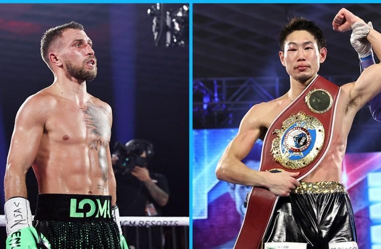 Vasyl Lomachenko vs Masayoshi Nakatani : OFICIAL