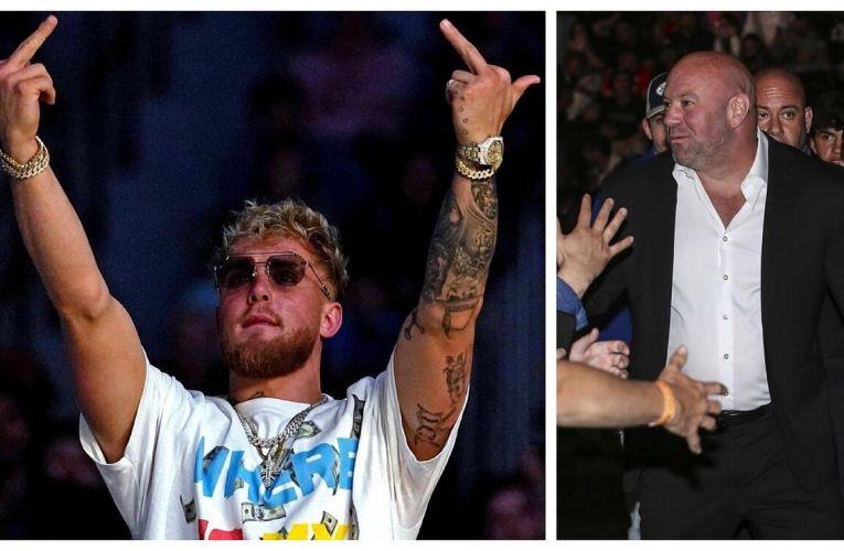 """Jake Paul """"En la UFC no pagan lo que se debe; M@ldit# Dana White"""""""