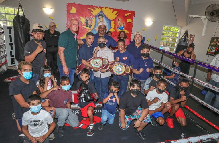 OMB: Debuta espectacular gimnasio de boxeo en Vieques