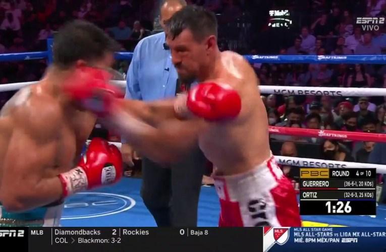Robert Guerrero derrota a Victor Ortíz sin problemas