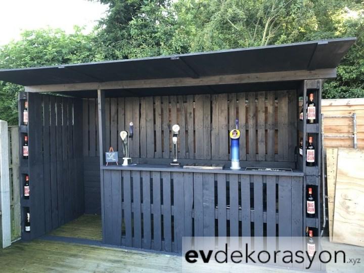 Paletlerden Bahçe Bar Yapmak
