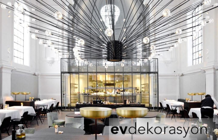 Lüks Modern Tasarım Restoran Tasarımları