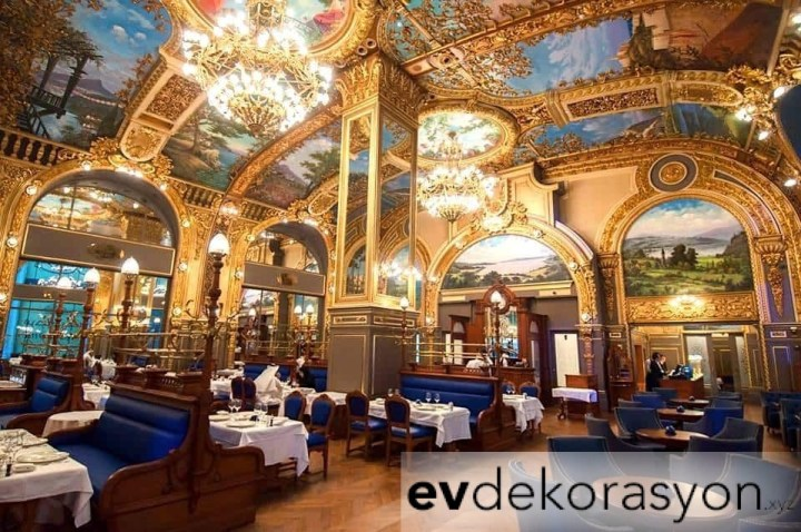 Lüks Restoran Dekorasyonu Örnekleri