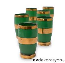 Yeşil Likör Bardağı