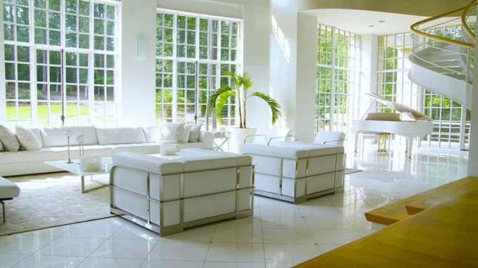 Akon'un evi ultra lüks bir villa