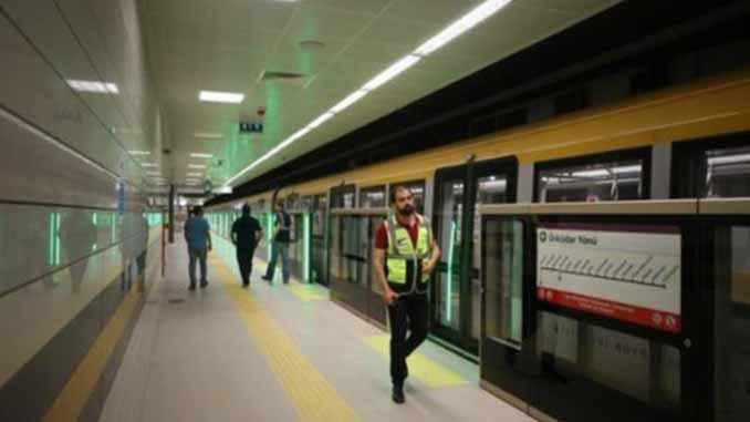 Üsküdar çekmeköy metro hattı