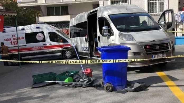 Avcılar'da okul servisi kazası