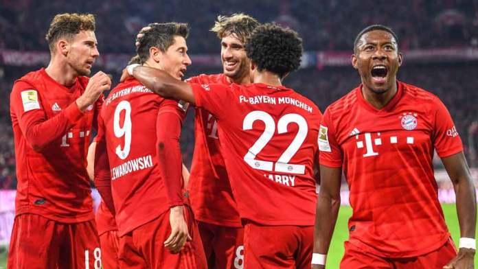 Bayern Münih Borussia Dortmund 4-0