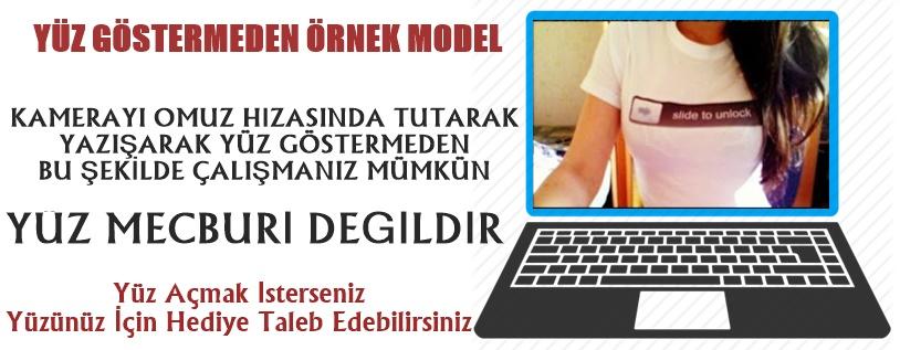 Model-Alımı Görüntülü Sohbet Operatörü Evde Çalışabilecek bayanlar