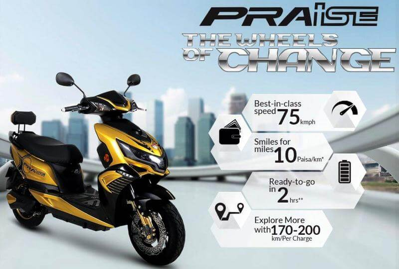 Okinawa Praise Review - Electric Scooters in India