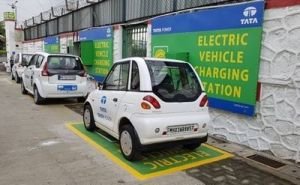 TATA power electric charging station EV duniya