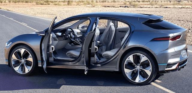 Jaguar i-Pace Electric Features