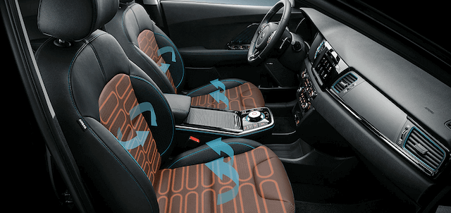 Kia Niro Electric crossover Variants & Features