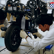 Electric Scooter Manufacturing at Okinawa Unit