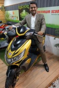 Mr. Jeetender Sharma, founder and Managing Director of Okinawa