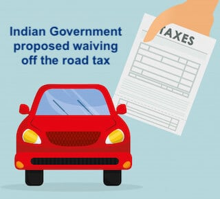 Road Tax for Electric Vehicle in India