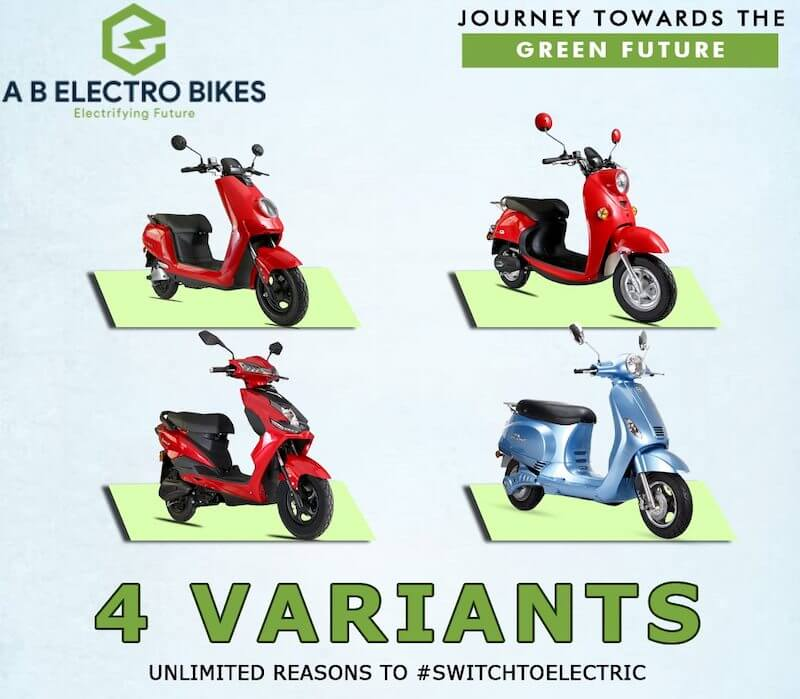 A B Electro Bikes Electric Scooter Models