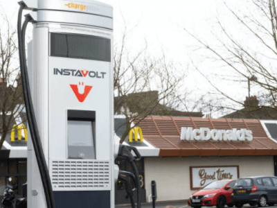 McDonald's to install nearly a hundred EV charging ports across its outlets in the UK