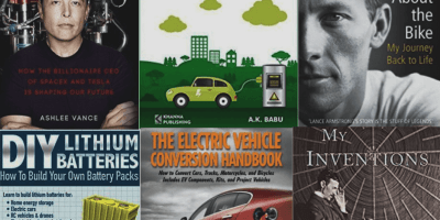 Must read top 6 electric vehicle books | Electric Car Book | conversion book