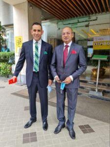 OSM-Chairman Uday Narang & MD Deb Mukherji