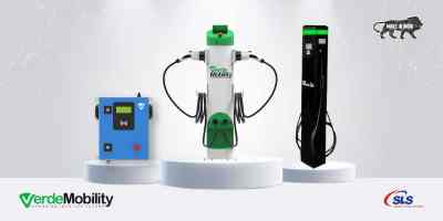 VerdeMobility Type 2 AC Dual Gun EV chargers