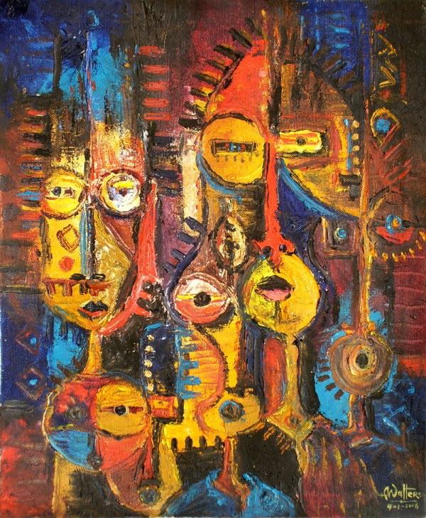African Abstract Art Painting