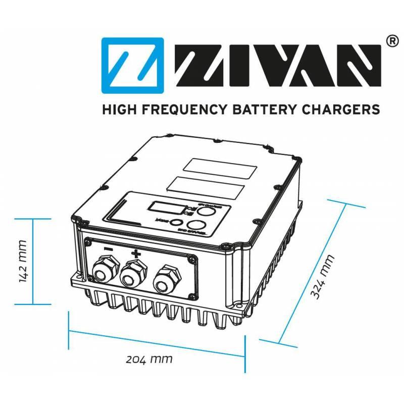 ZIVAN SG3 48V 60A Lead/Ltihium battery charger