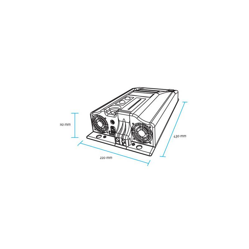 ZIVAN NG3 48V 45A Lead/Lithium battery charger