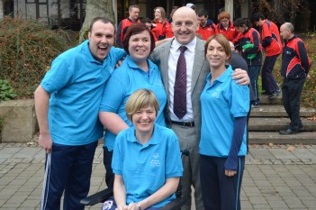 Special Olympics Launch